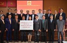 旅居泰国和德国越南人积极响应为中部灾区群众捐赠活动
