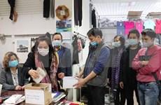 旅居东欧越南人向中部受灾群众捐款献爱心