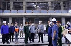 老越合作委员会主席高度评价越南援建老挝国会大厦项目的质量