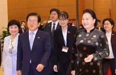 韩国国会议长圆满结束对越南进行的正式访问