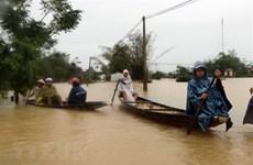 埃及和德国领导就越南中部各省洪涝灾害向越南领导人至慰问电