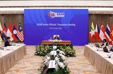 2020年东盟年: 东盟高官会议预备会在河内召开