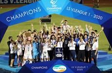 2020年越南足球甲级联赛:Viettel足球俱乐部首次夺得冠军