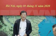 """政府副总理郑廷勇:本着""""四个就地""""方针主动应对第12号和第13号台风"""