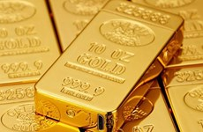 11日上午越南国内黄金价格每两下调50万越盾