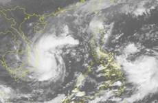 第十三号台风可能将增强中部出现强降雨天气