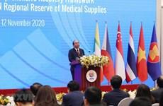 越南为地区医疗物资储备库提供总额达500万美元的医疗物资捐助