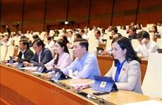 越南第十四届国会第十次会议新闻公报(第十五号)