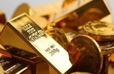 12日上午越南国内黄金价格每两下调13万越盾