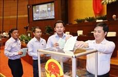 国会第十次会议:国会批准任命3个政府成员和最高人民法院法官