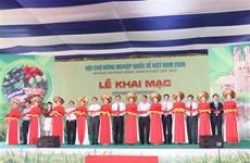2020年越南国际农业展吸引来自国内外100多家企业参展