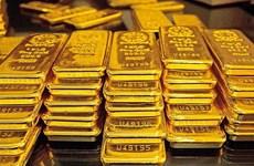 13日上午越南国内黄金价格每两上涨5万越盾