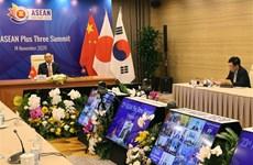 政府总理阮春福主持召开第23次东盟与中日韩领导人会议