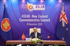 东盟与新西兰领导人会议:努力促进双边战略伙伴关系蓬勃发展