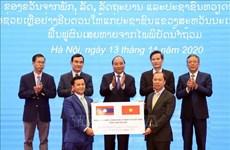越南向老挝灾民提供1000吨大米援助