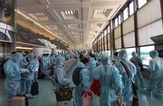把滞留在中国台湾和日本的越南公民安全接回国