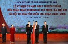 越南友好组织联合会为越南人民和各国人民搭建和平友好的桥梁
