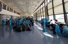将在中国台湾240余名越南公民接回国