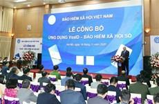 """阮春福总理出席""""数字社会保险——VssID应用程序""""公布仪式"""