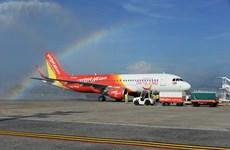 越捷航空公司收到新飞机 继续扩展在泰国的航线网络