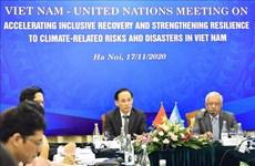 联合国助力越南加强对自然灾害的韧性能力建设