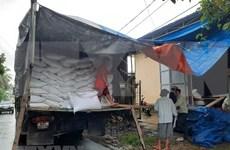 越南政府总理决定向中部受灾三省发放大米