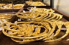 20日上午越南国内黄金价格保持在每两5600万越盾区间