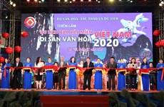 """""""2020年游历过越南各文化遗产之地""""展览会在河内正式开幕"""
