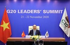 二十国集团领导人第十五次峰会开幕 越南政府总理阮春福与会