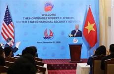 美国希望促进美越全面伙伴关系稳定、可持续发展