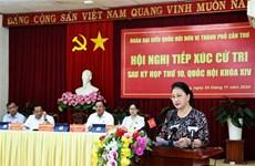 国会主席阮氏金银:国会十分关注九龙江三角洲地区基础设施投资工作