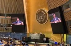 第75届联合国大会通过由越南提倡的东盟-联合国合作的决议