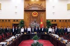 越南政府总理阮春福主持召开国家网络安全指导委员会首次会议
