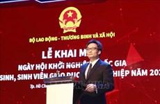 武德儋出席2020年越南学生和大学生国家创业节
