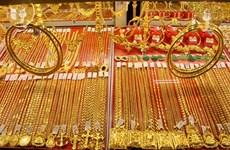 25日上午越南国内黄金价格持续下跌