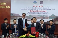 亚行援助越南250万美元  用于开展中部洪涝灾害灾后恢复重建工作
