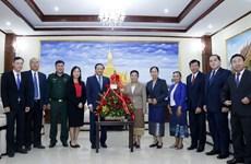 老挝高度评价越南在该国45年来国家发展过程中留下的烙印