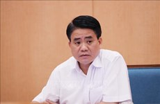 原河内市人民委员会主席阮德钟因涉嫌窃取国家机密罪遭起诉
