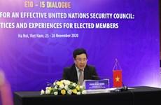 越南与联合国安理会:越南主持第三次联合国安理会非常任理事国会议