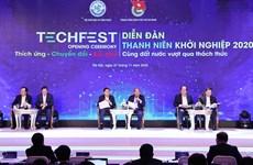 阮春福出席2020年越南国家创新创业节开幕式