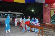 将368名越南公民从中国澳门接回国