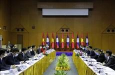 第七次越老外交部部长级政治磋商在万象举行