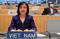 越南代表参加世贸组织对泰国进行的第八次贸易政策审议