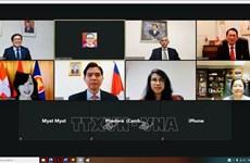 ASEAN 2020: 越南驻瑞士大使馆主持召开伯尔尼东盟委员会视频会议