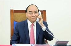 越南政府总理阮春福与荷兰首相吕特通电话