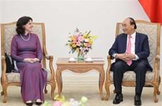 越南政府总理阮春福会见古巴驻越大使