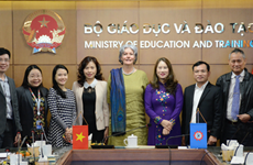 越南在小学生水平评估项目中位居东南亚国家之首