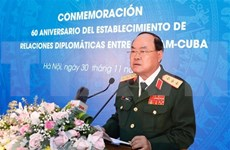加强越南—古巴双边防务合作