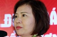 越南工贸部原党组干事会委员、原副部长胡氏金钗受党纪处分