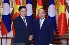 老挝总理通伦将访问越南并共同主持召开越老政府间联合委员会会议